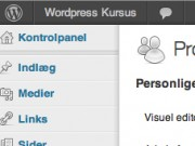 wordpress-vaerktoejslinje